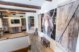 reclaimed tobacco barn grey wall mounted barn doors porter barn wood