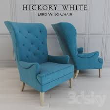 Hickory Chair Wing Chair 3d Models Arm Chair Hickory Bird Wing Chair