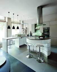 cuisine arrondi cuisine blanche avec ilot central 2 la cuisine arrondie dans 41