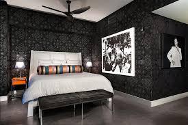 chambre chic appartement de centre ville à la décoration éclectique en floride