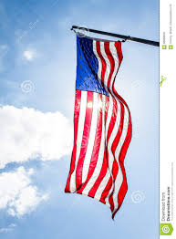 How To Hang The American Flag Vertically Vertical American Flag Stock Photo Image Of Display 83688626