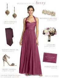 bridesmaid dresses fall weddings