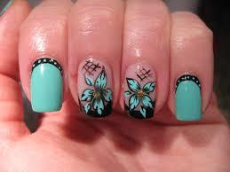 nail art turquoise and black nail art break rules not nails