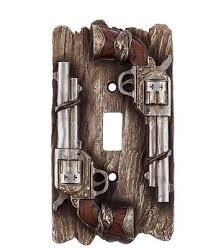 Western Rustic Home Decor Western Ranch Style Light Switch Plate Covers Rustic Home Decor