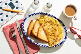 diner style western omelet recipe epicurious com