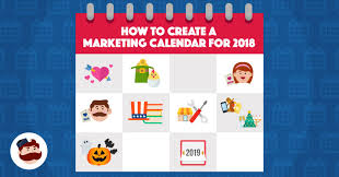 marketing calendar when to schedule holiday ads for 2018