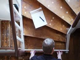 stufen treppe alte stufen renovieren laminat auf treppen verlegen bauen de