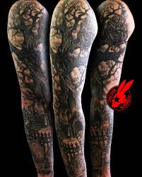 reaper tree graveyard sleeve by jackie rabbit by jackierabbit12