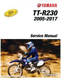 yamaha ttr230 motorcycle service manual 2005 2009 2011 2017