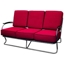 Covermates Patio Furniture Covers - 1930s kem weber chrome tube sofa from lloyd manufacturing at 1stdibs