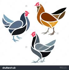 vector chickens inspiration pinterest stenciling bird and