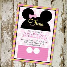 photo customized minnie mouse baby shower image
