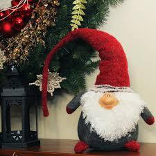 Gnome Ornament Christmas The Holiday Aisle Plush Nordic Santa Christmas Gnome With Bendable