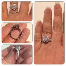 neil bridal set wedding rings princess cut bridal sets vintage inspired wedding