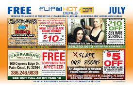 flip u0027nhot deals coupon book july 2017 palm coast area by flip