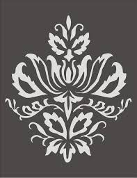 Floral Wall Stencils For Bedrooms Stencil Floral Design Pesquisa Google Stencil De Parede