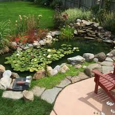 Pond Landscaping Ideas Diy Easy Landscaping Ideas With Low Budget