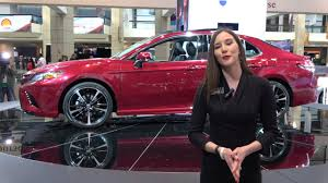 lexus of naperville the 2018 toyota camry at the chicago auto show toyota of
