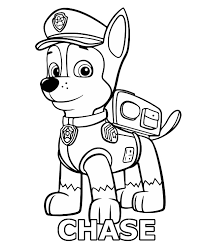 paw patrol adventure bay color children rescue dogs