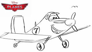 how to draw dusty crophopper from disney planes