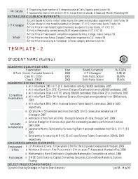 resume sample slideshare resume l curriculum vitae sample