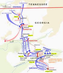 Maps Of Atlanta by File Atlanta Campaign Svg Wikimedia Commons