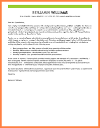 cover letter examples for admin jobs 11367