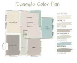 a whole house paint color plan pottery barn paint lakes and house