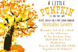 liittle pumpkin fall baby shower invitation pumpkin gender
