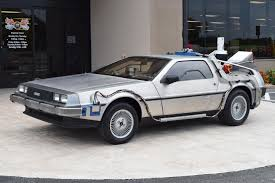 future cars used 1981 z movie car back to the future time machine venice fl