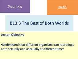Best Of Both Worlds H Lesson Aqa Gcse 4 6 1 B13 3 By Harret Worlds Best Ppt