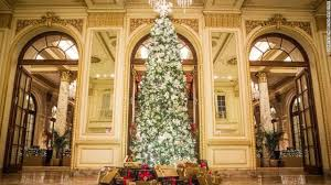 Christmas Outdoor Decorations Sydney by Best Hotels Christmas Decorations Around The World Design Contract