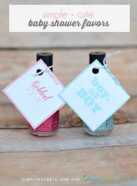 nail baby shower favors simple baby shower favors babycenter