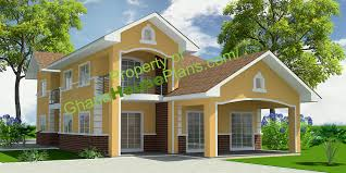 5 bedroom homes house plans 5 bedroom storey family house in accra