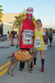 Ketchup Halloween Costume Condiment Costumes Race Costumes