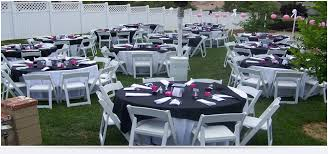 chairs and tables rentals tables and chairs table linen rentals yucaipa ca