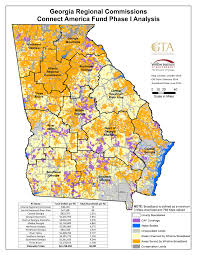 Northeast Georgia Map Map Gallery Georgia Broadband