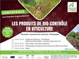 chambre d agriculture tours conférence sur les produits de bio contrôle en viticulture mon viti