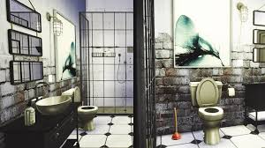 the sims 4 industrial bathroom youtube