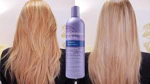 clairol shimmer lights before and after purple shampoo clairol shimmering lights before after youtube