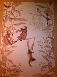 monkey wallpaper for walls monkey wallpaper covering szukaj w google exotic animals