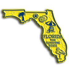 Florida Map Image by Florida Map Magnet Classicmagnets Com