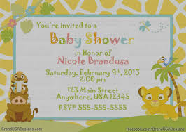 lion king baby shower invitations pictures 2nd baby shower invitations remarkable 2nd baby shower