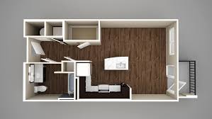 Rendering Floor Plans by Studio 1 U0026 2 Bedroom Apartments In Melrose Prices Starting At 1112