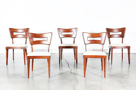 set of 6 heywood wakefield dining chairs vintage supply store