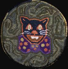 halloween rugs seasonal patterns for rug hooking patterns from folk u0027n u0027 fiber