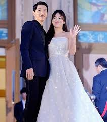 Wedding Dress Drama Korea Wedding Rumors Of Song Couple Started Making Rounds After A