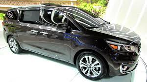 mpv car interior 2015 kia sedona sxl exterior and interior walkaround debut at