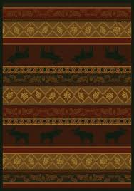 Moose Area Rugs This Rug Http Rusticbest Rugs Html Just Because I