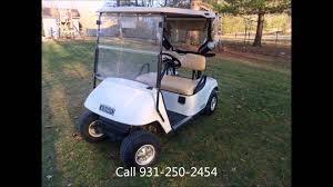 2011 ezgo golf cart for sale 48v electric crossville tn youtube